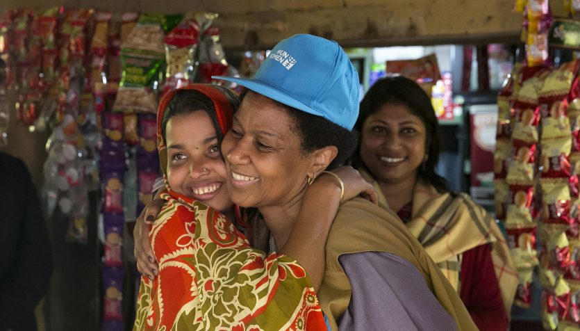 Empowering women to achieve the global goals