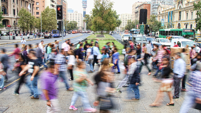 Growing at a slower pace, world population is expected to
