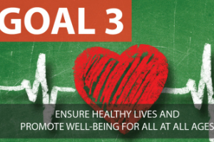 SDG3: Goal 3: Ensure healthy lives and promote well-being for all at all ages