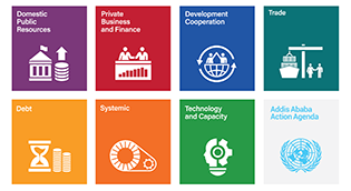 Addis Ababa Action Agenda icons