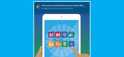 Cover of the 2020 Financing for Sustainable Development Report