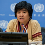 Joan Carling, member of the Permanent Forum on Indigenous Issues