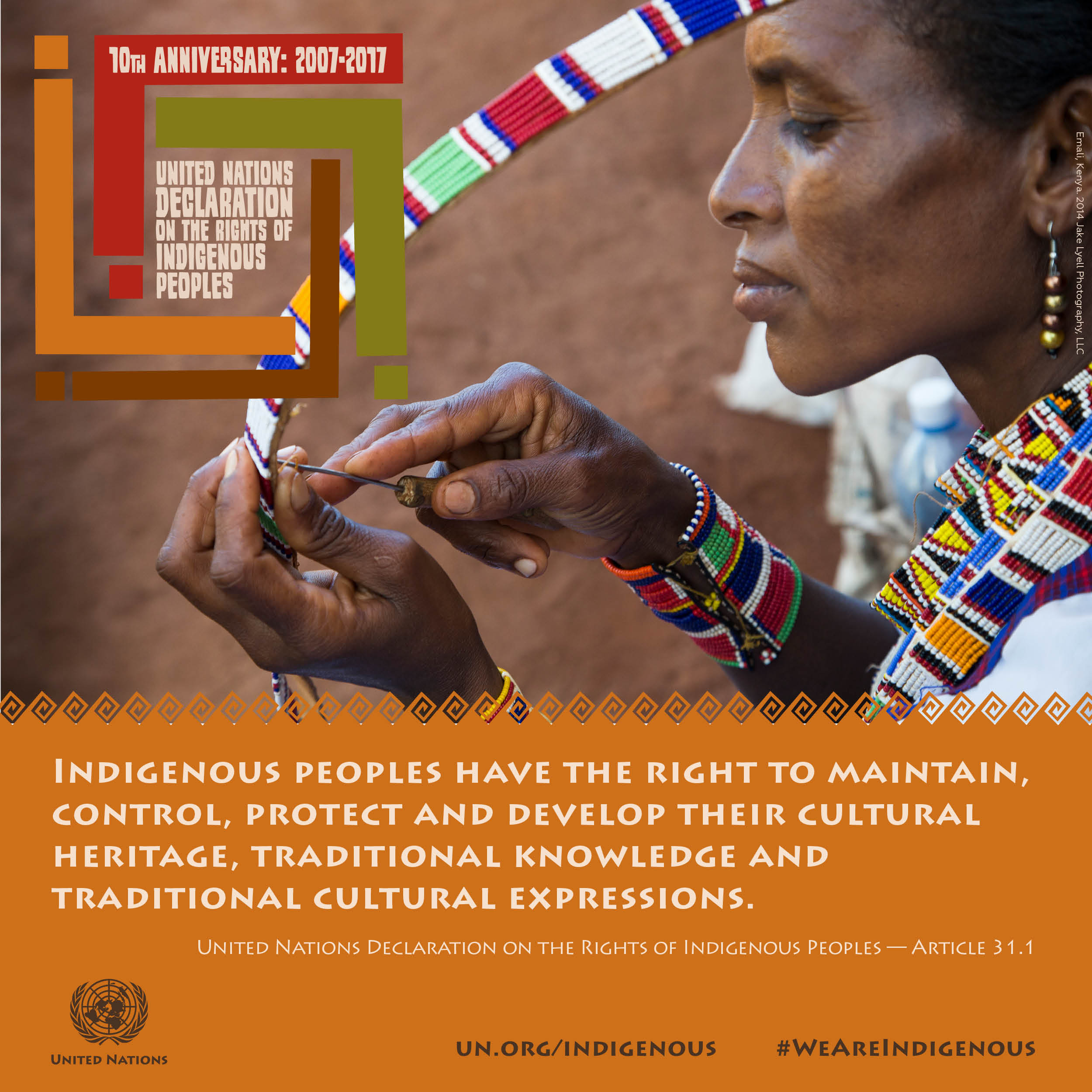 indigenous people to the world Protect indigenous people's land rights and the whole world will benefit, un forum declares.