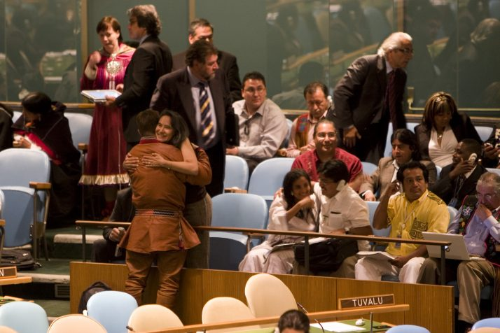 """DESA's new publication """"State of the World's Indigenous Peoples on UNDRIP's implementation"""""""