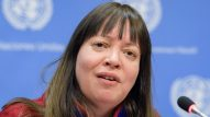 Anne Nuorgam, Chair of the UN Permanent Forum on Indigenous Issues