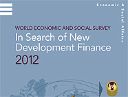WESS 2012 - In Search of New Development Finance