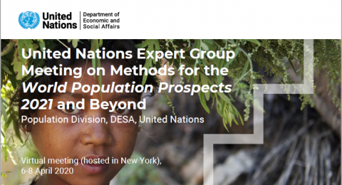 "Expert Group Meeting on ""Methods for the World Population Prospects 2021 and beyond"""
