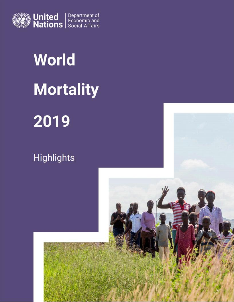 World Mortality 2019 - Highlights Cover Image