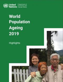 World Population Ageing 2019 - Highlights Cover Image