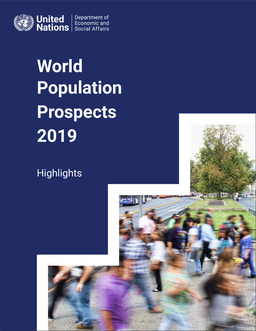 World Population Prospects 2019 - Highlights Cover Image