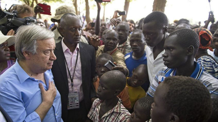 On International Day, UN chief urges action to address root causes of poverty