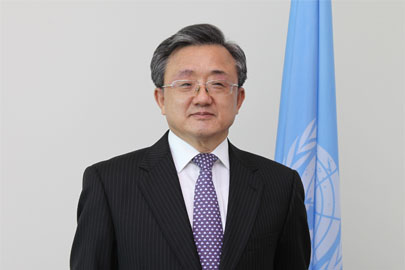 Under Secretary-General for Economic and Social Affairs, Mr. Liu Zhenmin. UNDESA.