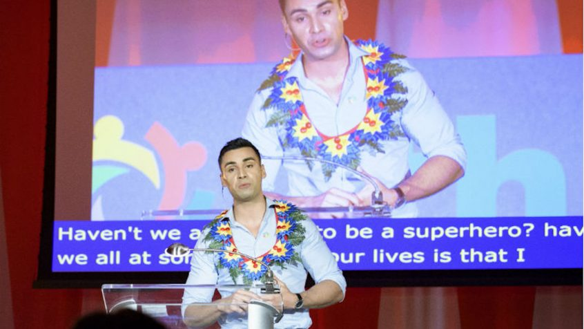 World needs generation of self-empowered 'superheroes', UN youth forum told