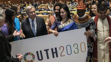 Youth2030: UN SG launches bold new strategy for young people 'to lead'