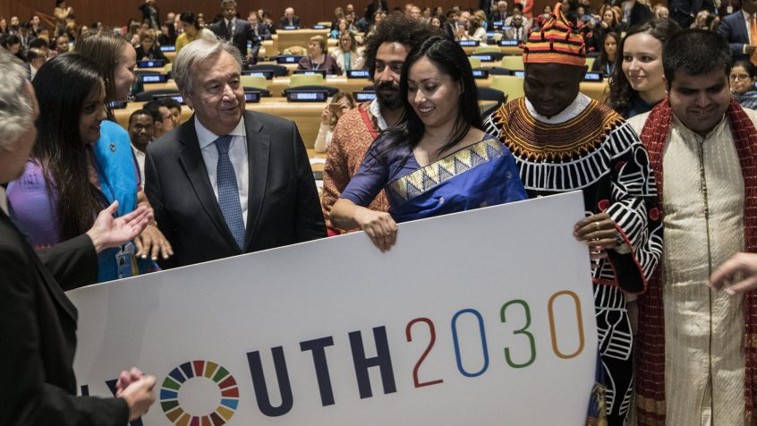 High-level Event on Youth2030: Launch of the UN Youth Strategy and Generation Unlimited Partnership