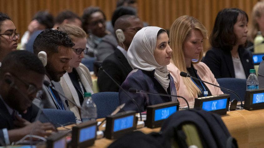 UN Youth Delegates call for meaningful work, inclusion in decision-making