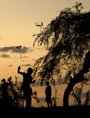 Children Fly Kites at camp for Displaced Haitians (UN Photo/Pasqual Gorriz)