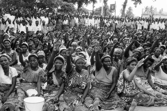 Elections in Togoland (now Togo) in 1958