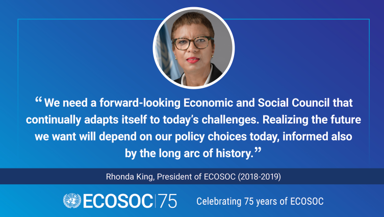 ECOSOC 75: Taking Action for a More Sustainable World