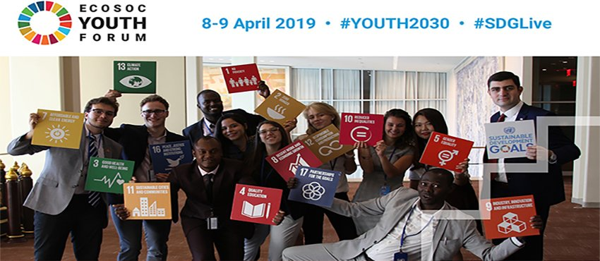 2019 ECOSOC Youth Forum | UNITED NATIONS ECONOMIC and SOCIAL COUNCIL