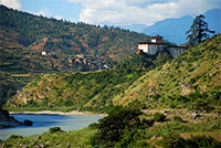 UN Photo/Gill Fickling: Bhutan, a panoramic view of Wangdue