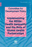 CDP Policy Note: Health-Related Millennium Development Goals