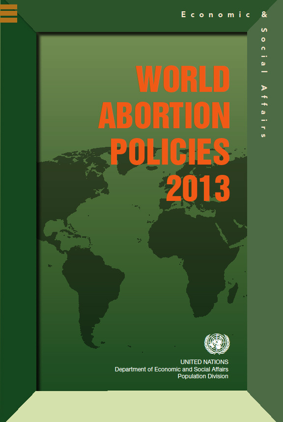 World Abortion Policies 2013 WallChart