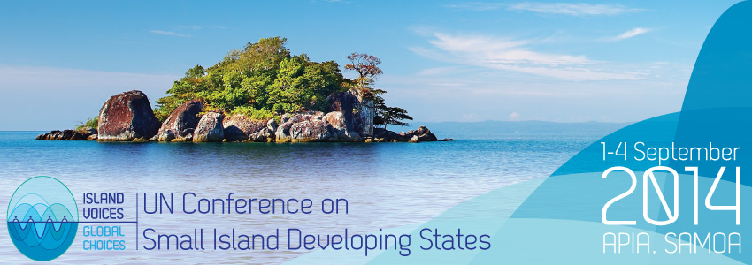 Island Voices Global Choices, SIDS conference logo
