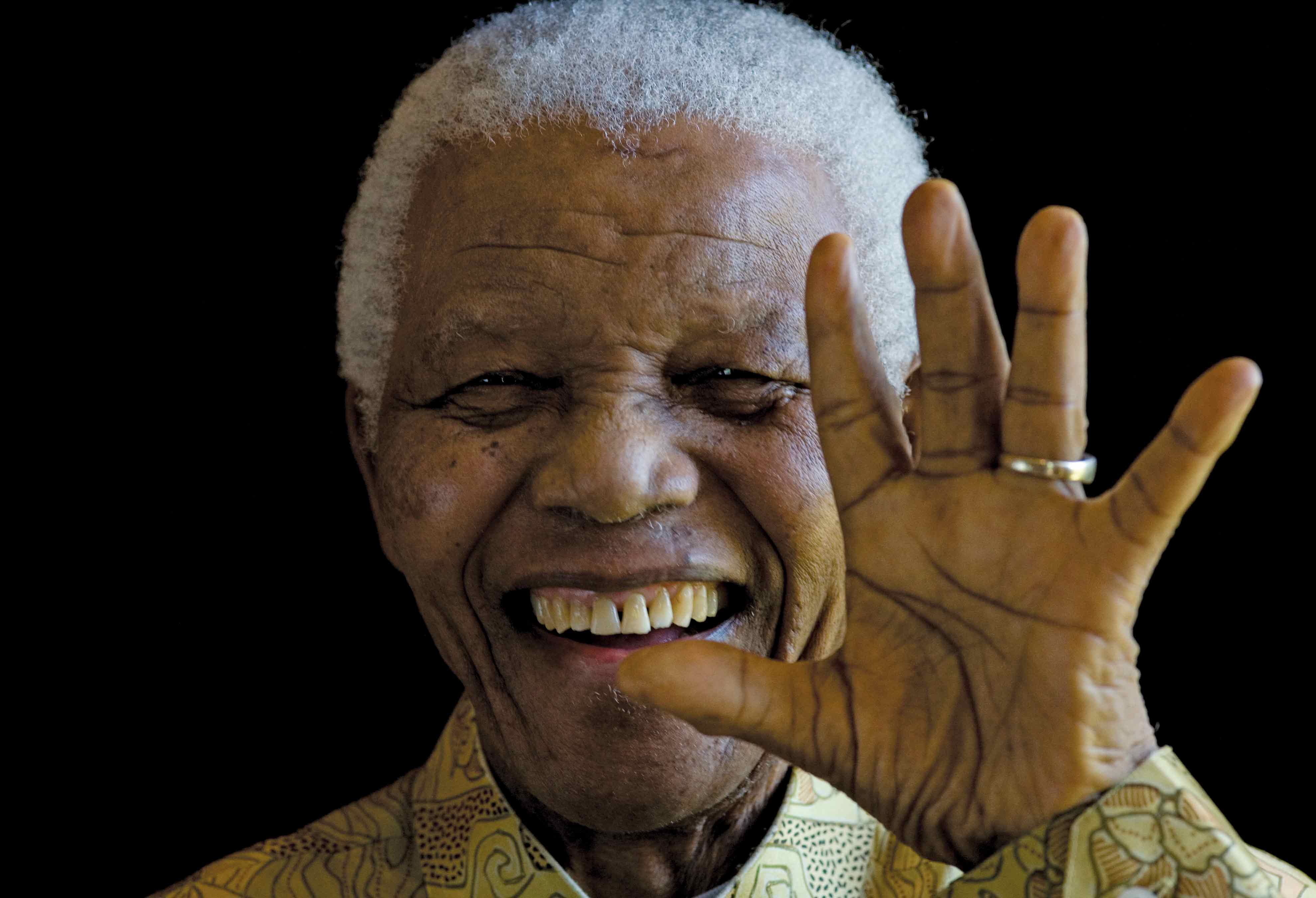 Portrait de Nelson. Copyright Fondation Mandela / Matthew Willman