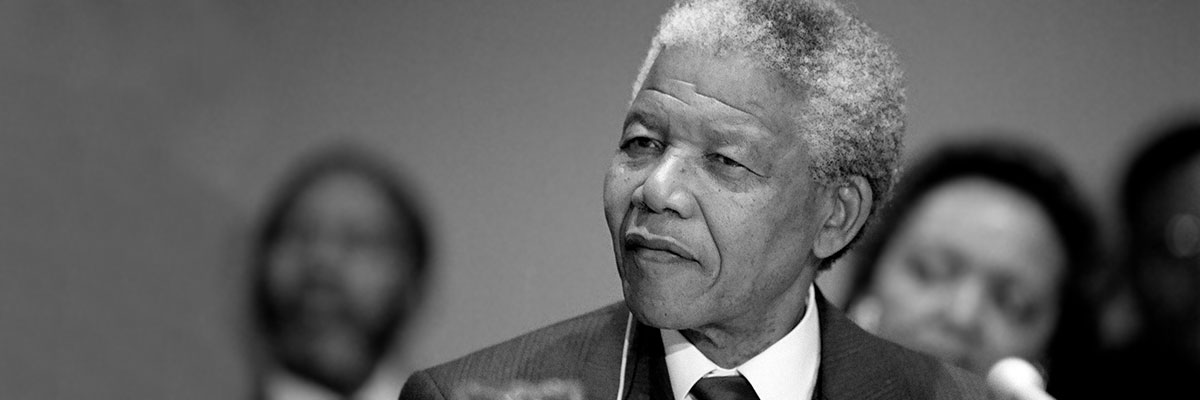 Nelson Mandela's Life & His Statements Speaking Out For Justice