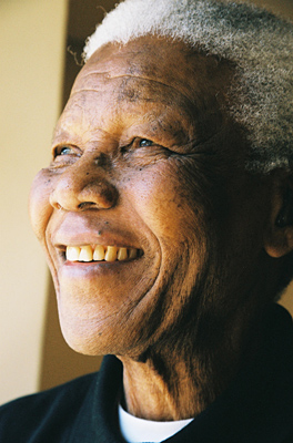 Portrait de M. Mandela. © Photo NMF/Matthew Willman
