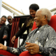 Nelson Mandela, taken on the occasion of the NMCF's Annual Children's Celebration and preferred site dedication ceremony for the Establishment of the Nelson Mandela Children's Hospital, July 2009.