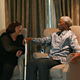 Mr. Mandela and his daughter Zindzi. Taken during a private meeting in March 2008.
