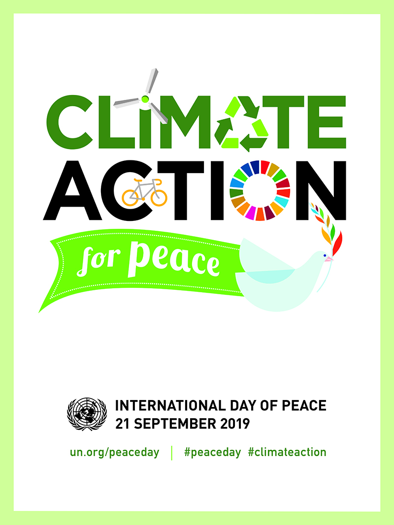 International Day of Peace - 21 September 2019 - Theme and Notes