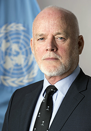 H.E. Mr Peter Thomson, President of the 70th session of the United Nations General Assembly