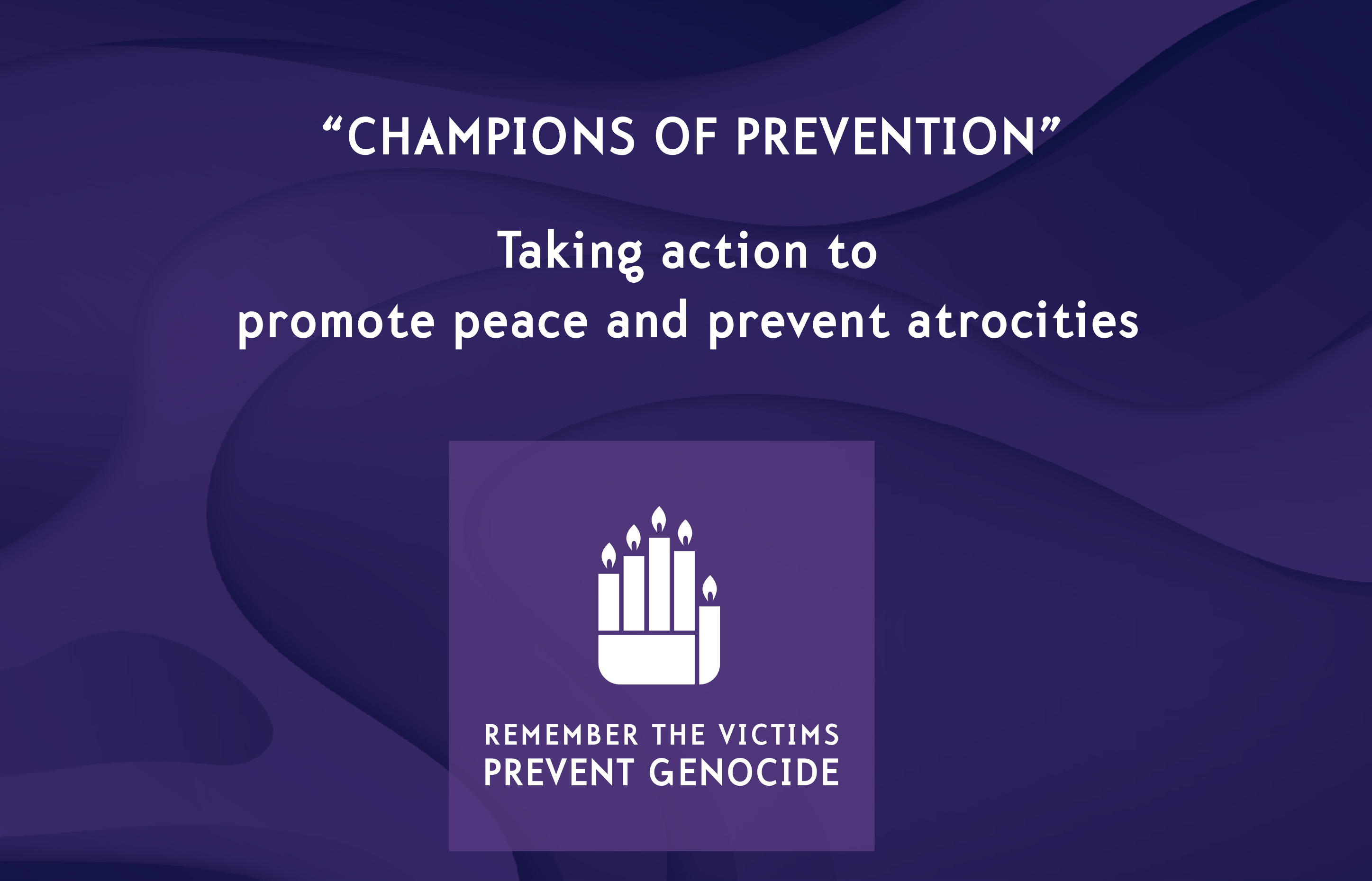 United Nations Office on Genocide Prevention and the ...