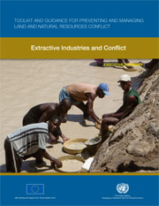 Extractive Industries and Conflict PDF Cover