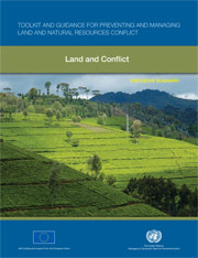 Land and Conflict PDF Cover