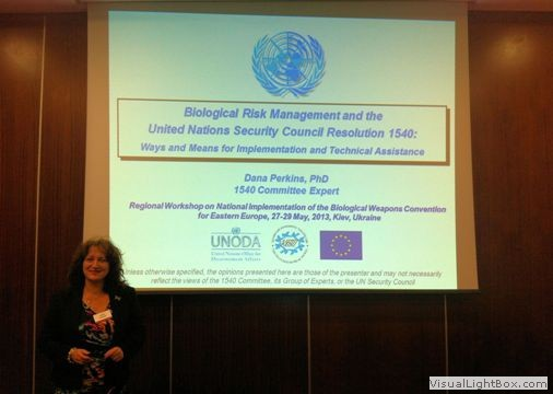 Presentation by the 1540 expert at Regional Workshop on National Implementation of the Biological Weapons Convention in Eastern Europe, 27- 29 May 2013, Kiev, Ukraine