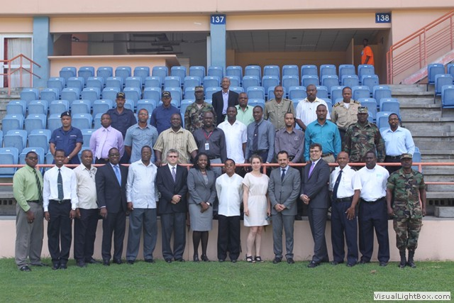 Group photo of the participants in the 1540 Committee Workshop, held from 29-31 July 2013 at the Port of St. George's, during the visit of the 1540 Committee to Grenada, at the invitation of the Government of Grenada.
