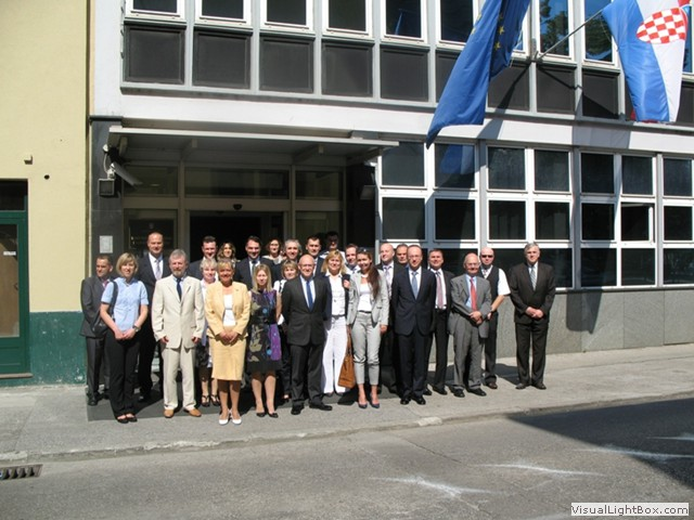 Group picture on occasion of the first round of discussions of the Croatia-Poland Peer Review initiative on the implementation of UN Security Council resolution 1540 (2004), 17-19 June 2013, Zagreb, Croatia. The talks will continue later this year in Poland. Picture: Ministry of Foreign and European Affairs of the Republic of Croatia.