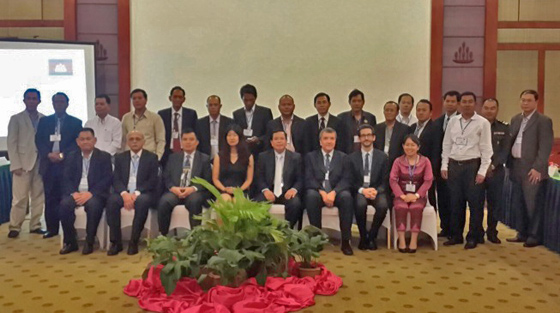 Photo of national round table on the implementation of UNSC resolution 1540 (2004), hosted by the Royal Government of Cambodia in cooperation with the UN Office for Disarmament Affairs, 20-21 October 2014, Phnom Penh, Cambodia.