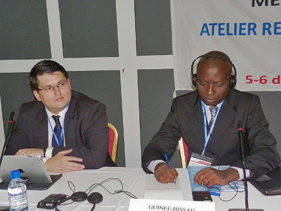 Participants at Workshop for the implementation of Security Council Resolution 1540 (2004) for Portuguese-speaking UN Member States, 5-6 June 2014, Lomé, Togo.