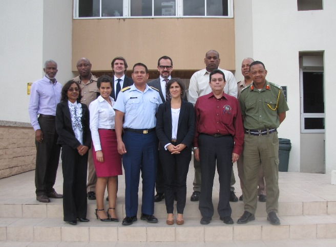 Belize - Regional Centre for Peace, Disarmament and Development in Latin America and the Caribbean (UNLIREC) 1540 Roundtable, Belmopan, 23 February 2015
