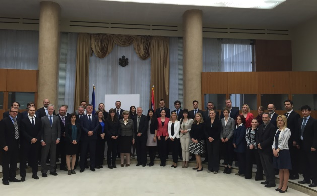 Second Annual Meeting of the OSCE Points of Contact on UNSCR 1540 (2004), Belgrade, Serbia, 27 May 2015.