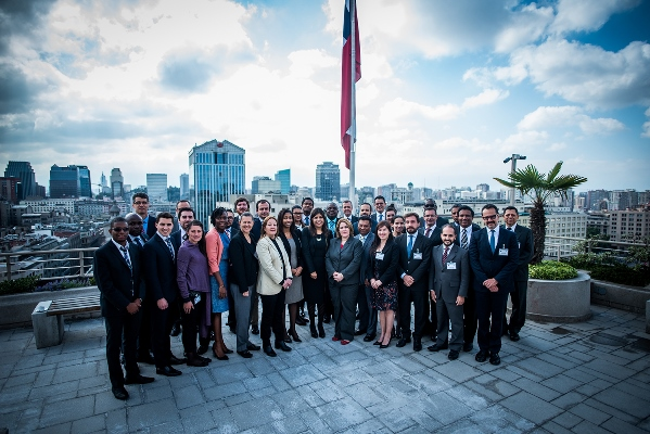 Participants at the training course for the Latin America and Caribbean Points of Contact, hosted by the Government of Chile, Santiago, 24-28 October 2016.