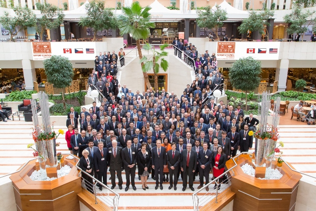 Participants at the 15th Export Control Conference, 2-4 November 2016, Prague, Czech Republic