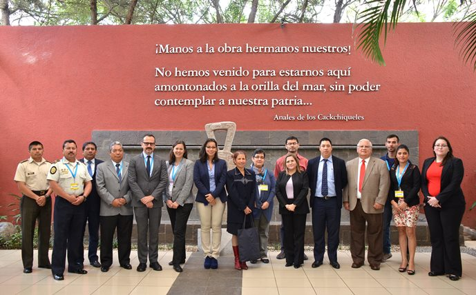 Participants in the National round table on the implementation of resolution 1540 (2004), Guatemala City, 11-12 November 2016