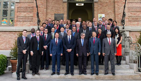 Participants in the Special Meeting of the 1540 Committee on the 2016 Comprehensive Review, held in Madrid on May 12 and 13, including Members of the Committee and its Experts and representatives of international and regional organizations.