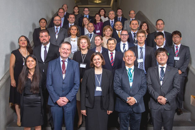 Participants in 1540 Regional Industry Outreach Conference for the Pacific Alliance States and Brazil held in Mexico